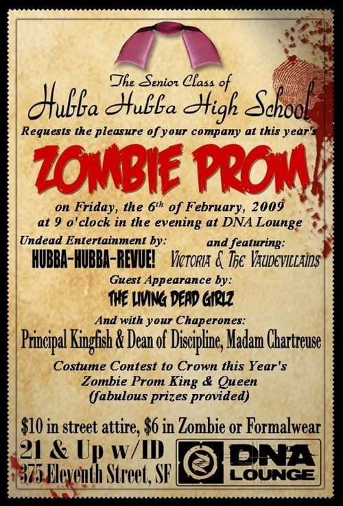 Zombie Prom at DNA Lounge