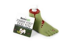 GAMAGO Zombie Foot Dog Toy